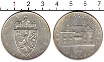 Изображение Монеты Норвегия 10 крон 1964 Серебро XF 150 лет конституции