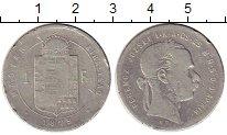 Изображение Монеты Венгрия 1 форинт 1879 Серебро  Франс Иосиф I