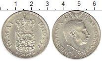 Изображение Монеты Дания 2 кроны 1937 Серебро UNC-