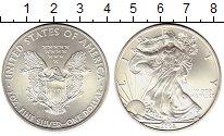 Изображение Монеты США 1 доллар 2008 Серебро UNC