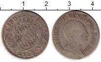 Изображение Монеты Бавария 6 крейцеров 1824 Серебро VF