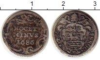 Изображение Монеты Ватикан 1 гроссо 1686 Серебро VF