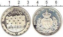 Изображение Монеты Европа Сан-Марино 5000 лир 1999 Серебро Proof