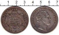 Изображение Монеты Германия Саксония 1 талер 1851 Серебро XF