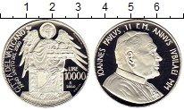 Изображение Монеты Европа Ватикан 10000 лир 2000 Серебро Proof