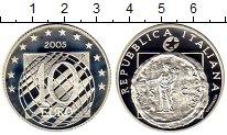 Изображение Монеты Европа Италия 10 евро 2005 Серебро Proof