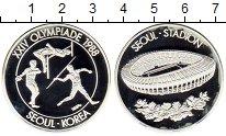 Изображение Монеты Южная Корея Медаль 1988 Серебро Proof-