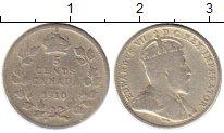 Изображение Монеты Северная Америка Канада 5 центов 1910 Серебро VF