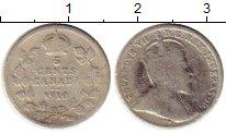 Изображение Монеты Канада 5 центов 1910 Серебро VF
