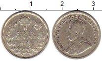 Изображение Монеты Северная Америка Канада 5 центов 1917 Серебро XF-