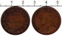 Изображение Монеты Канада 1 цент 1913 Бронза VF