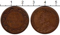 Изображение Монеты Северная Америка Канада 1 цент 1914 Бронза XF
