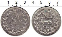 Изображение Монеты Азия Иран 5000 динар 1902 Серебро XF-