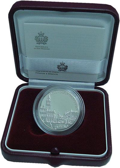 Изображение Подарочные монеты Европа Сан-Марино 5 евро 2018 Серебро Proof