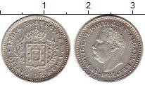 Изображение Монеты Португальская Индия 1/8 рупии 1881 Серебро XF+