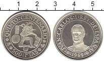 Изображение Монеты Европа Испания 500 песет 1989 Серебро Proof-