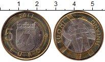Изображение Монеты Европа Финляндия 5 евро 2011 Биметалл UNC-