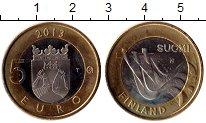Изображение Монеты Финляндия 5 евро 2013 Биметалл UNC- Исторические провинц