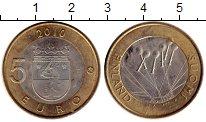 Изображение Монеты Финляндия 5 евро 2010 Биметалл UNC-