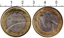 Изображение Монеты Европа Финляндия 5 евро 2015 Биметалл UNC-