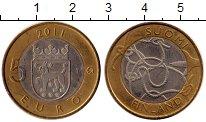 Изображение Монеты Финляндия 5 евро 2011 Биметалл UNC- Исторические провинц