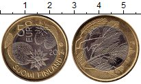 Изображение Монеты Европа Финляндия 5 евро 2014 Биметалл UNC-