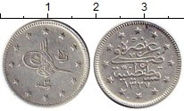 Изображение Монеты Турция 2 куруша 1911 Серебро XF