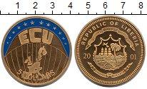 Изображение Монеты Африка Либерия 5 долларов 2001 Латунь UNC