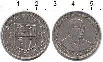 Изображение Монеты Маврикий 1 рупия 1991 Медно-никель XF