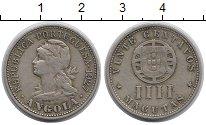 Изображение Монеты Африка Ангола 20 сентаво 1927 Медно-никель XF