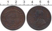 Изображение Монеты ЮАР 1 пенни 1898 Медь VF Пауль Крюгер