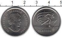 Изображение Монеты Канада 25 центов 2009 Медно-никель XF