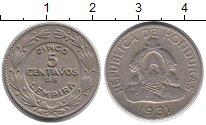 Изображение Монеты Гондурас 5 сентаво 1931 Медно-никель XF