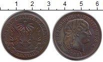 Изображение Монеты Гаити 2 сантима 1881 Бронза XF
