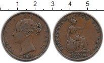 Изображение Монеты Великобритания 1/2 пенни 1841 Медь XF