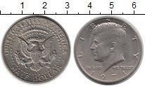 Изображение Монеты США 1/2 доллара 1971 Медно-никель XF