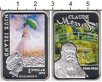 Изображение Монеты Новая Зеландия Ниуэ 1 доллар 2010 Серебро Proof-