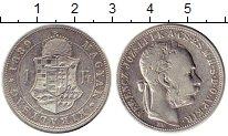 Изображение Монеты Венгрия 1 форинт 1889 Серебро XF