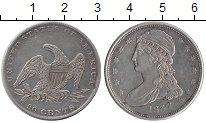 Изображение Монеты США 50 центов 1837 Серебро XF
