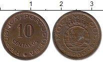 Изображение Монеты Африка Мозамбик 10 сентаво 1960 Бронза XF