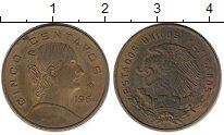 Изображение Монеты Мексика 5 сентаво 1964 Бронза VF