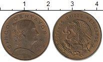 Изображение Монеты Мексика 5 сентаво 1964 Бронза XF