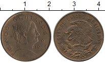 Изображение Монеты Северная Америка Мексика 5 сентаво 1964 Бронза XF