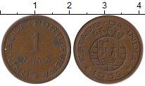 Изображение Монеты Португалия Португальская Индия 1 таньга 1952 Бронза XF