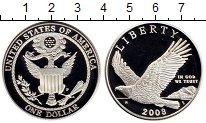 Изображение Мелочь Северная Америка США 1 доллар 2008 Серебро Proof