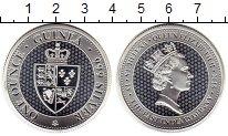 Изображение Монеты Великобритания Остров Святой Елены 1 фунт 2018 Серебро Proof