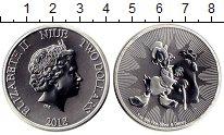 Изображение Монеты Новая Зеландия Ниуэ 2 доллара 2018 Серебро UNC