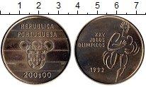Изображение Монеты Европа Португалия 200 эскудо 1992 Медно-никель UNC