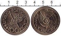 Изображение Монеты Европа Португалия 100 эскудо 1987 Медно-никель UNC-