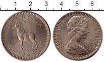 Изображение Монеты Великобритания Родезия 25 центов 1964 Медно-никель XF